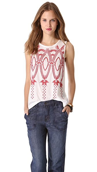 Madewell Embroidered Tank