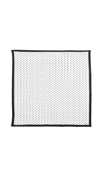 Madewell Scratched Dots Hanky