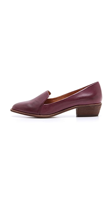 Madewell Mini Heel Loafers