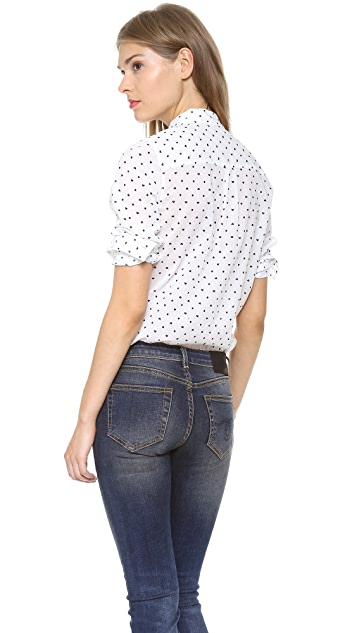 Madewell Heart Dot Eden Boy Shirt