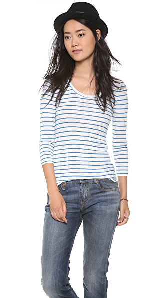 Madewell Long Sleeve Stripe Tee