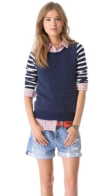 Madewell Birdseye Pullover