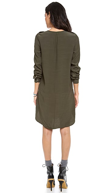 Madewell Military Shift Dress