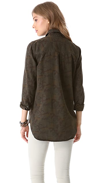 Madewell Camo Station Workshirt