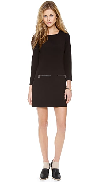 Madewell Moto Shift Dress