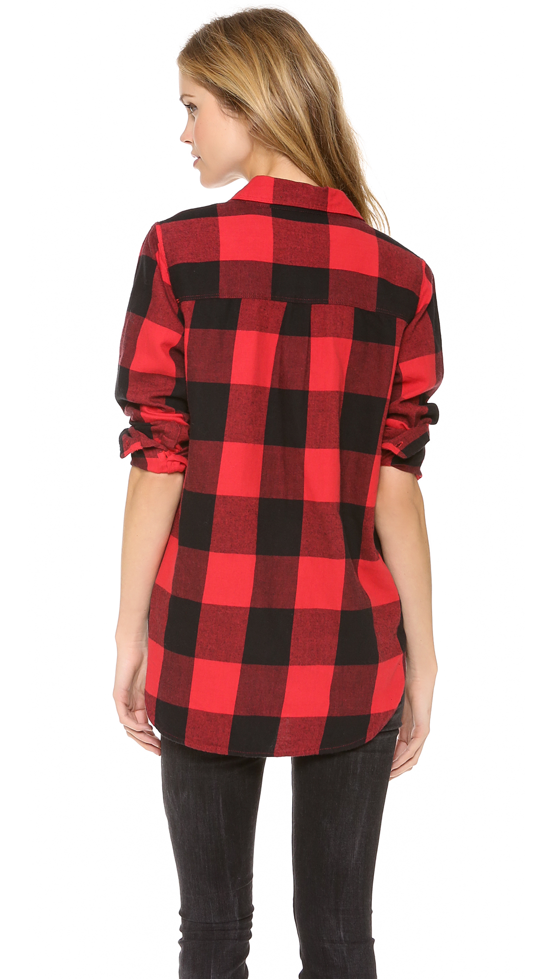 Buffalo Check Shirt Womens