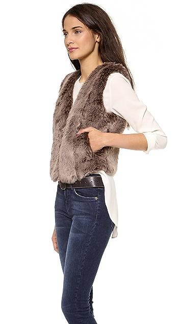 Madewell Faux Fur Vest
