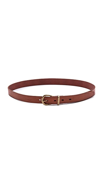 Madewell Skinny Leather Belt