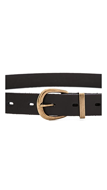 Madewell Skinny Leather Belt