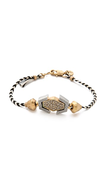 Madewell Pave Shapes Friendship Bracelet