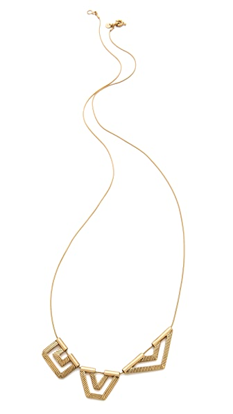 Madewell Etched Geomix Necklace