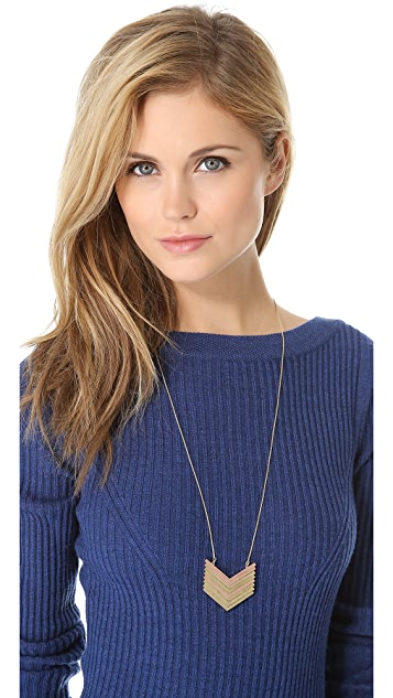 Madewell Arrow Stack Necklace