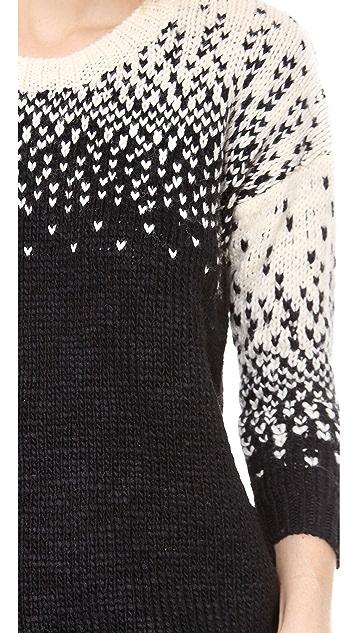 Madewell Scattered Birdseye Pullover