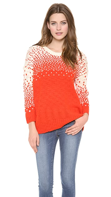 Madewell Scattered Birdseye Pullover