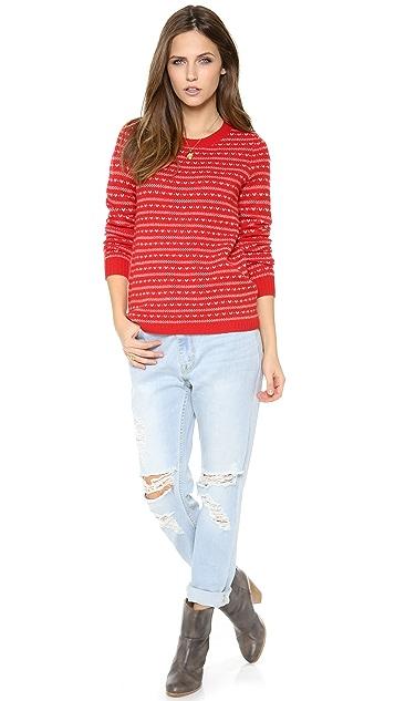 Madewell Fran Birdseye Pullover