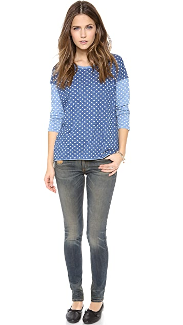 Madewell Mixed Dot Tee