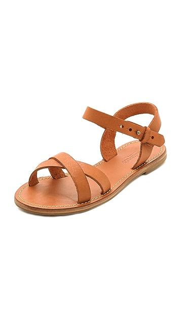 Madewell Crisscross Sightseer Sandals