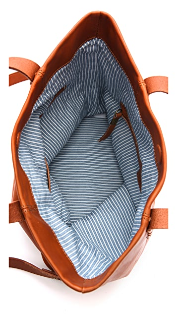 Madewell Woven Strap Folded Tote