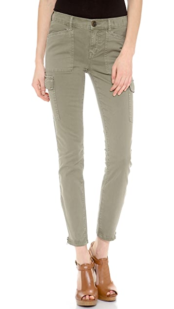 Madewell Skinny Ankle Zip Cargo Pants