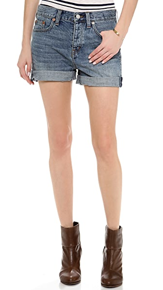 Madewell Denim Boy Shorts