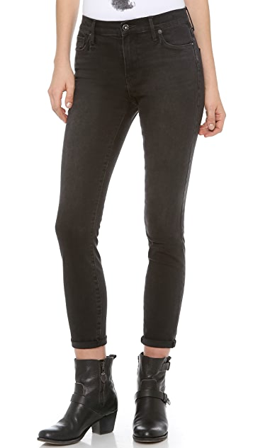 Madewell High Rise Ankle Skinny Jeans