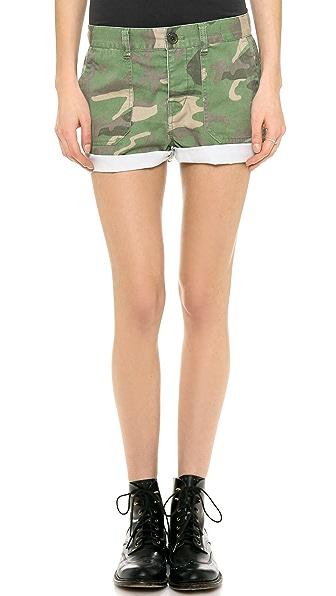 Madewell Cargo Shorts in Camo