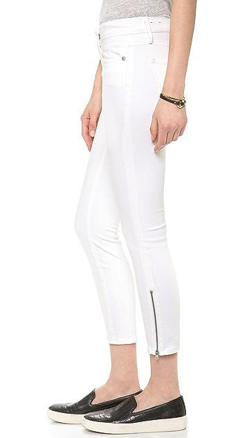 Madewell Skinny Skinny Crop Zip Jeans