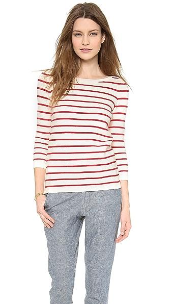 Madewell Seaside Zip Up Sweater