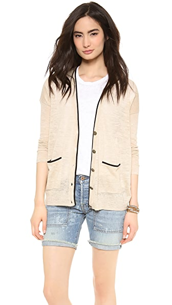 Madewell Color Tip Cardigan