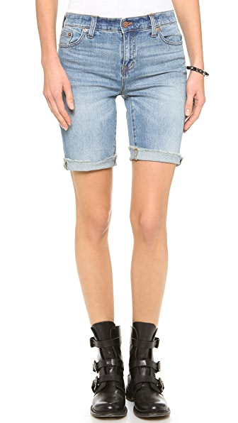 High Waisted Bermuda Shorts