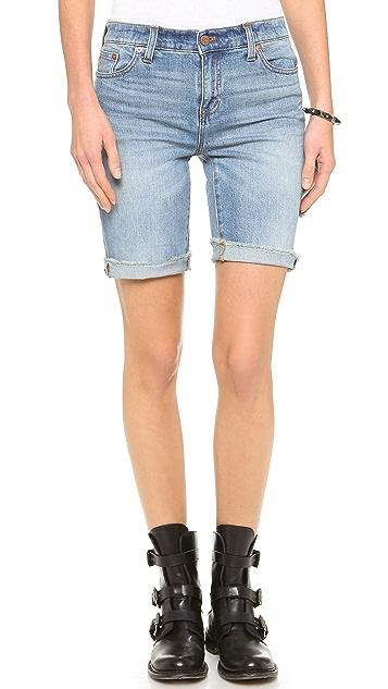 Madewell High Waisted Bermuda Shorts
