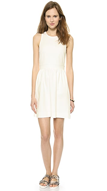 Madewell Pierside Zip Back Dress