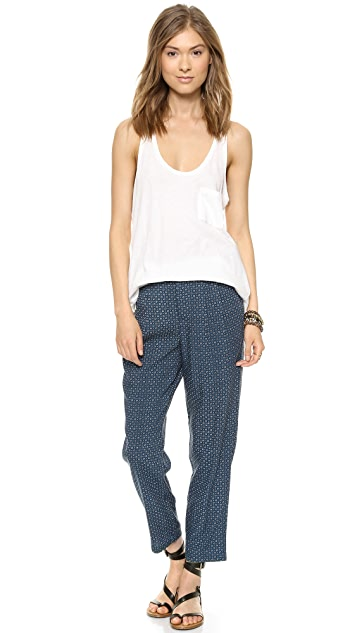 Madewell Delancey Slouch Trousers