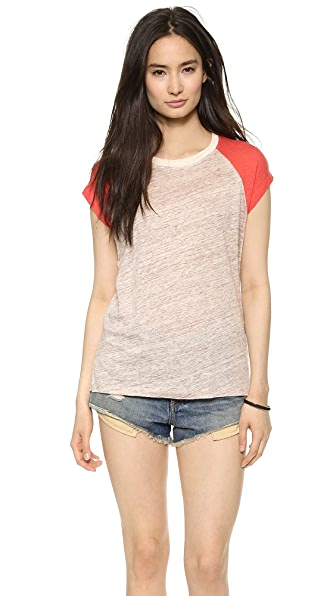 Madewell Linen Ringer Muscle Tee