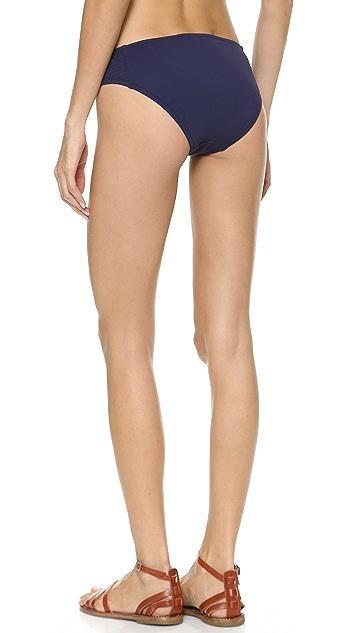 Madewell Embroidered Hipster Bikini Bottoms