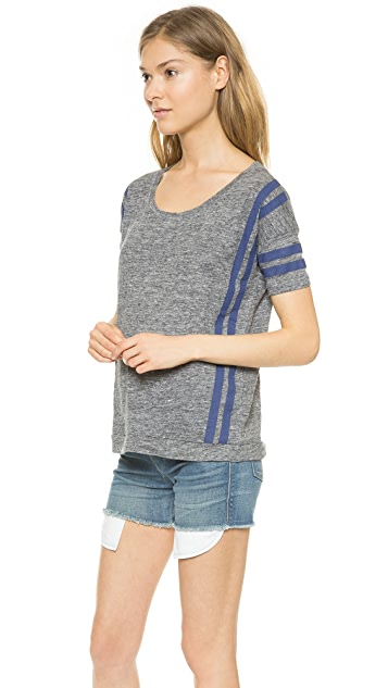 Madewell Banded Tee in Court Stripe