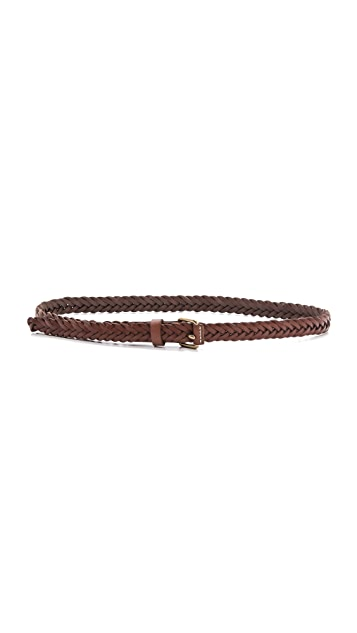 Madewell Herringbone Braid Belt