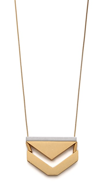 Madewell Anglestack Necklace