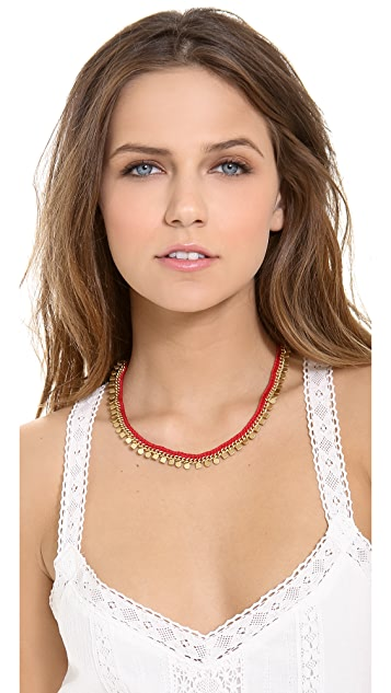 Madewell Braided Geo Chain Necklace