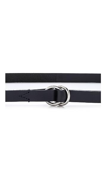 Madewell Skinny Double Ring Belt