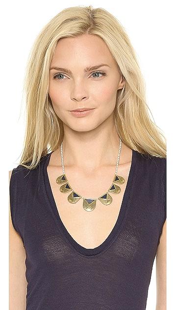 Madewell Lapis Amulet Necklace