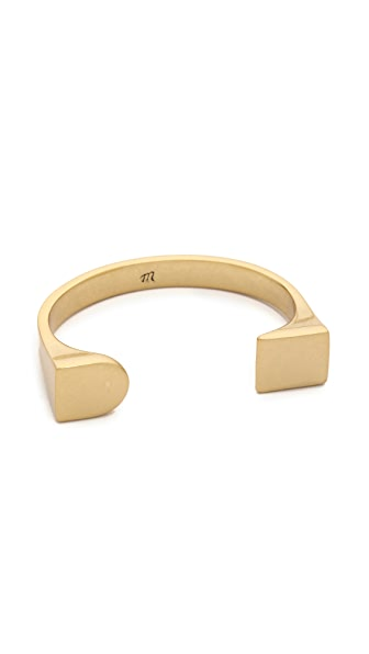 Madewell Simple Shape Cuff Bracelet