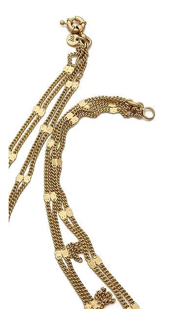 Madewell Link Fringe Necklace