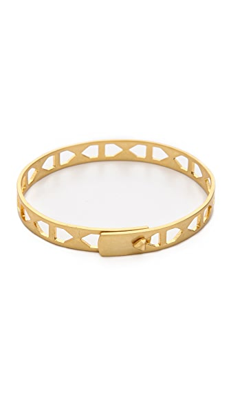 Madewell Gridcraft Bangle Bracelet