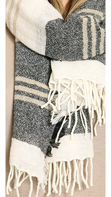 Madewell Portland Stripe Scarf
