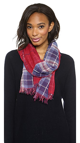 Madewell Greyhound Plaid Scarf
