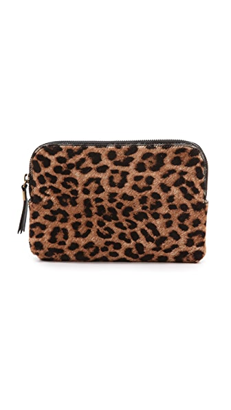 Madewell Printed Haircalf Medium Pouch
