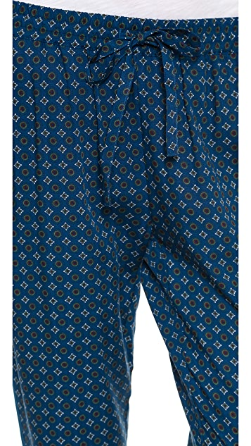 Madewell Printed Slouchy Pants