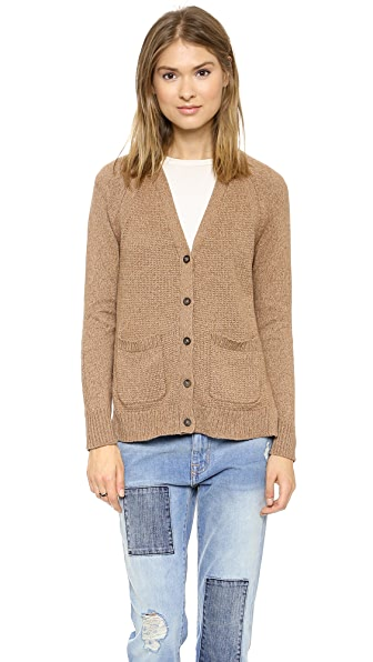 Madewell Solid Jillian Swing Cardigan