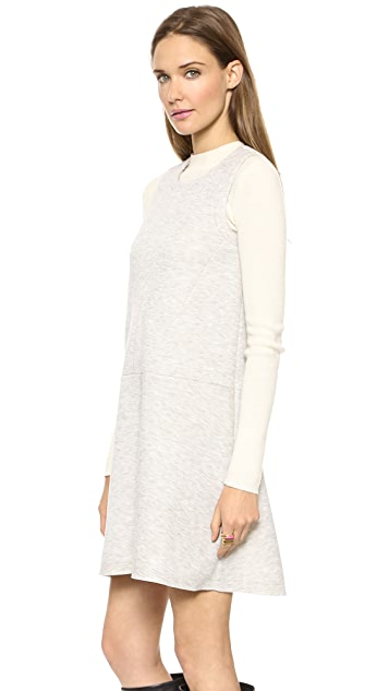 Madewell Haven Bonded Dress